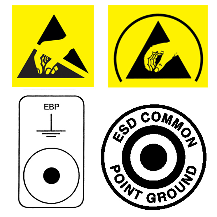 Esd Symbols You Need To Know Scs Static Control Solutions